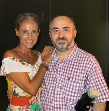 Carla Royo-Villanova y Vicente Nadal