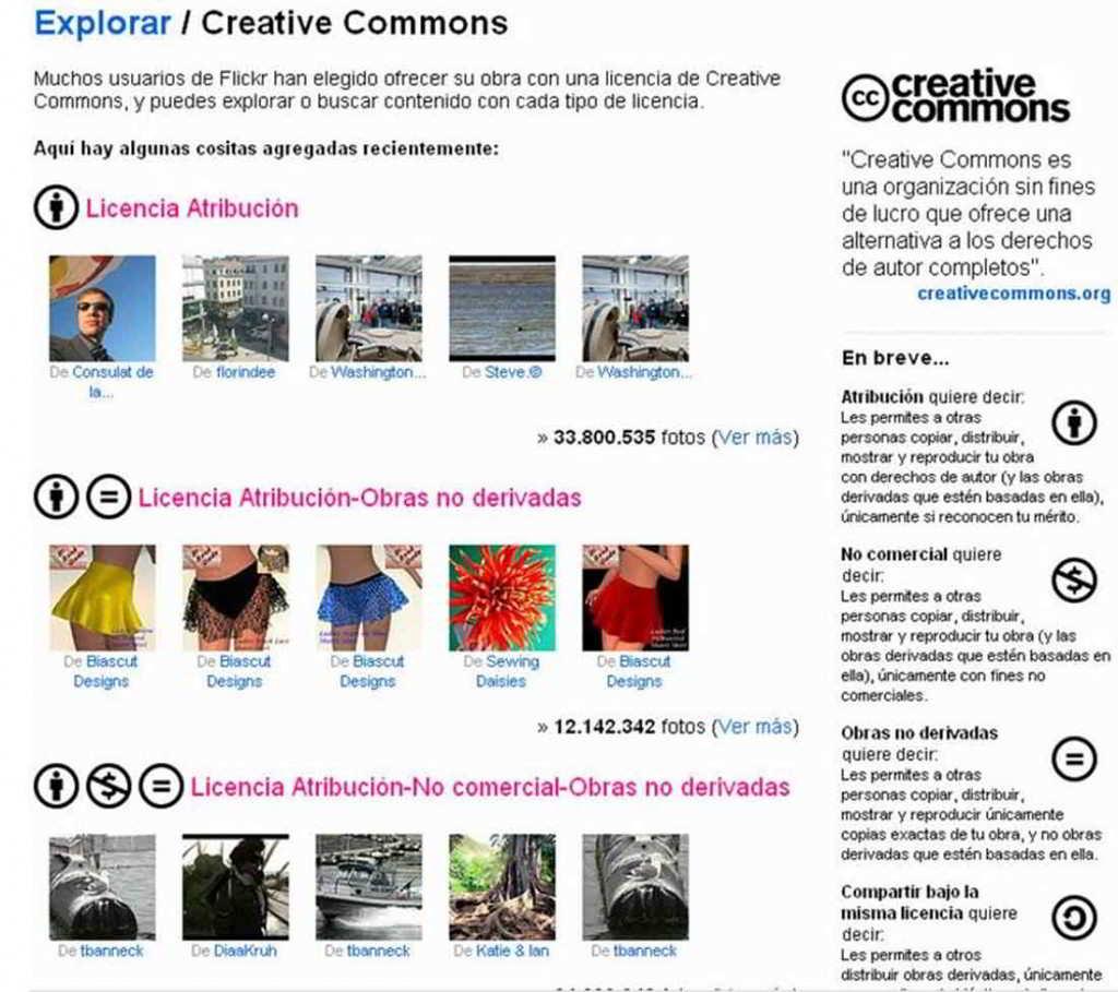 puedes usar imágenes creative commons en tu marketing visual