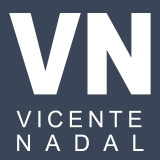 Logotipo Vicente Nadal - Estragegia en Redes Sociales, Marketing Visual, diseño Web y fotografía ecommerce