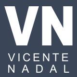 Logotipo Vicente Nadal - Estragegia en Redes Sociales, Marketing Visual, diseño Web y fotografía ecommerce